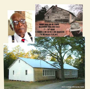 Bishop James and the Rosenwald School