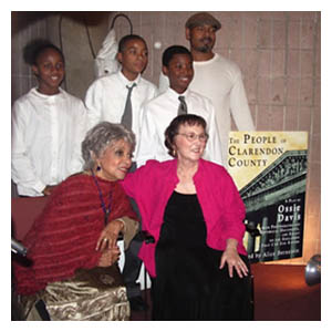 Ruby Dee, Student actors, and Alice Bernstein